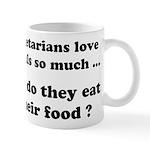 Vegetarians : The Reality Mug