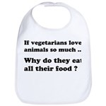 Vegetarians : The Reality Bib