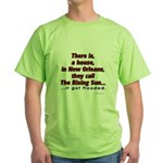 New Orleans Green T-Shirt