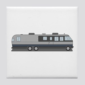 Classic Airstream Motor Home Tile Coaster