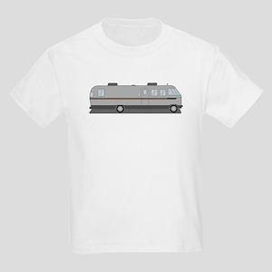 Classic Airstream Motor Home Kids Light T-Shirt