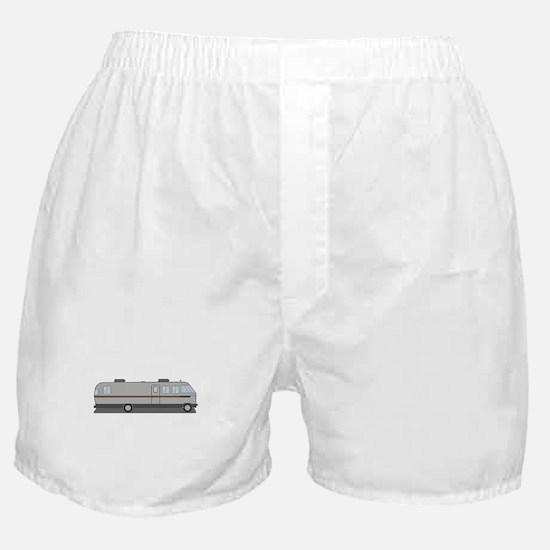 Classic Airstream Motor Home Boxer Shorts