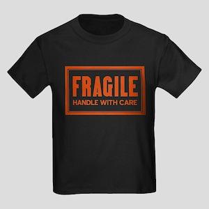 Handle With Care Kids Dark T-Shirt