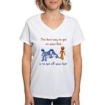 The Best Way Women's V-Neck T-Shirt