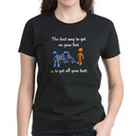 The Best Way Women's Dark T-Shirt