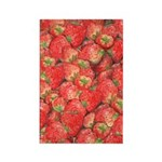 Strawberry Rectangle Magnet (10 pack)