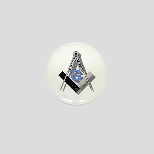 Masonic Square and Compass #2 Mini Button