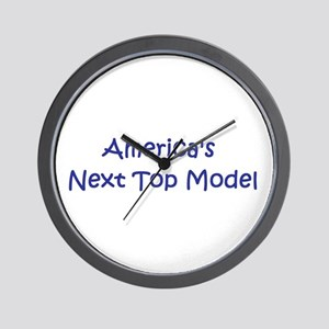 America's Next Top Model Wall Clock