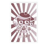 Outlaw Mascot Stencil Postcards (8 Pack)