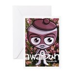 Outlaw Mascot Photo Greeting Card