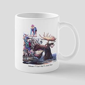 BetweenARockandAHardPLace Mugs