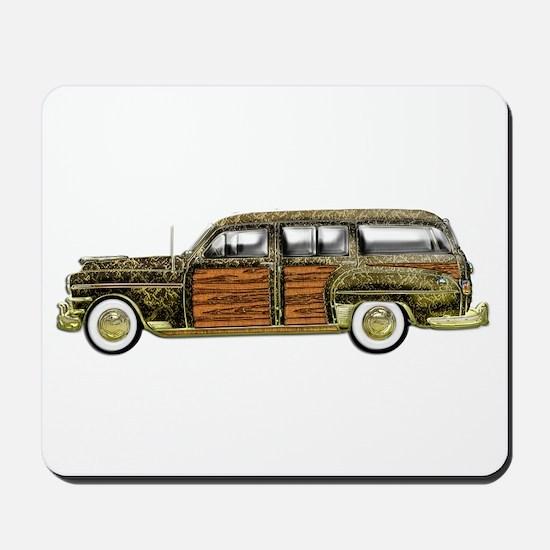 Classic Woody Station wagon Mousepad