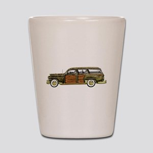 Classic Woody Station wagon Shot Glass