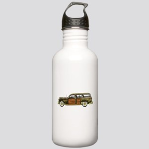 Classic Woody Station wagon Stainless Water Bottle