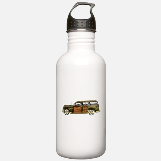 Classic Woody Station wagon Water Bottle