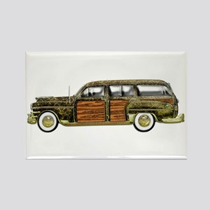 Classic Woody Station wagon Rectangle Magnet