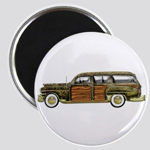 Classic Woody Station wagon Magnet