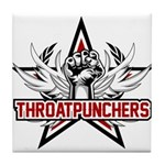 ThroatPunchers Tile Coaster