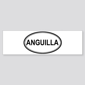 Anguilla Euro Bumper Sticker