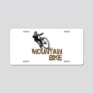 Mountain Bike Aluminum License Plate