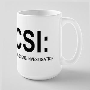 CSI:Crime Scene Investigation Large Mug