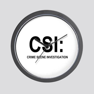 CSI:Crime Scene Investigation Wall Clock