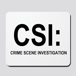 CSI:Crime Scene Investigation Mousepad