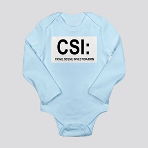 CSI:Crime Scene Investigation Long Sleeve Infant B