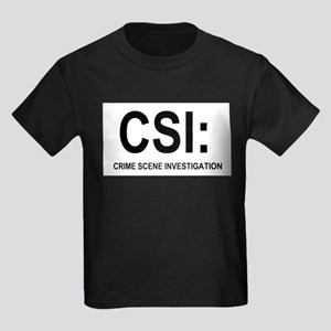 CSI:Crime Scene Investigation Kids Dark T-Shirt
