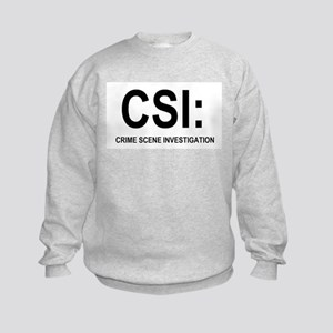 CSI:Crime Scene Investigation Kids Sweatshirt