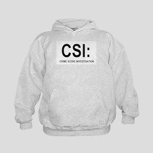 CSI:Crime Scene Investigation Kids Hoodie