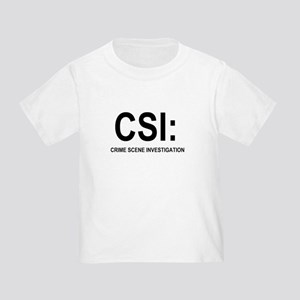 CSI:Crime Scene Investigation Toddler T-Shirt