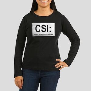 CSI:Crime Scene Investigation Women's Long Sleeve