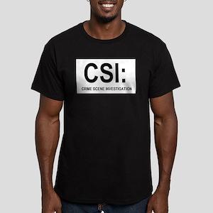 CSI:Crime Scene Investigation Men's Fitted T-Shirt
