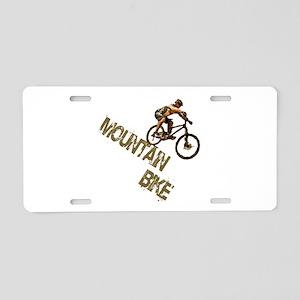 Mountain Bike Downhill Aluminum License Plate