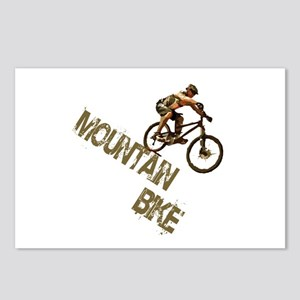Mountain Bike Downhill Postcards (Package of 8)