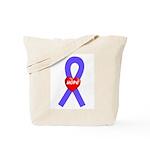 Periwinkle Hope Tote Bag