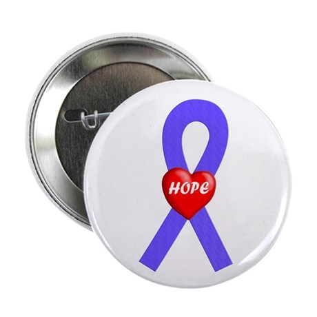 """Periwinkle Hope 2.25"""" Button (100 pack)"""