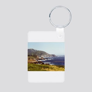 Sur Aluminum Photo Keychain