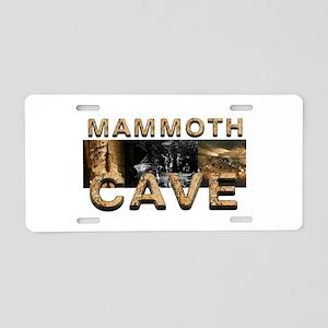 ABH Mammoth Cave Aluminum License Plate