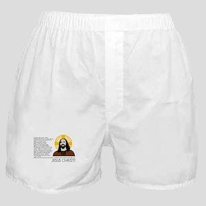 Un-American Jesus Boxer Shorts