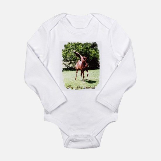 I've Got Attitude Long Sleeve Infant Bodysuit