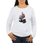 Steampunk Space-Chimp Women's Long Sleeve T-Shirt