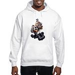 Steampunk Space-Chimp Hooded Sweatshirt