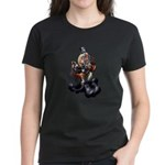 Steampunk Space-Chimp Women's Dark T-Shirt