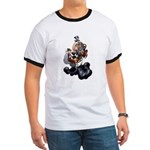 Steampunk Space-Chimp Ringer T
