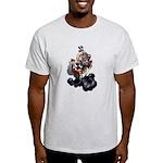 Steampunk Space-Chimp Light T-Shirt