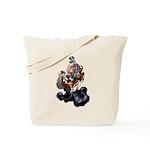 Steampunk Space-Chimp Tote Bag