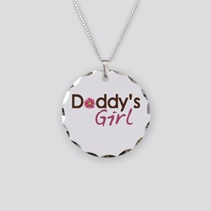 Daddy's Girl Necklace Circle Charm