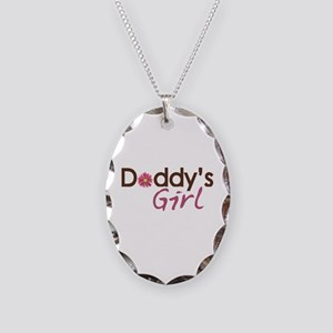 Daddy's Girl Necklace Oval Charm